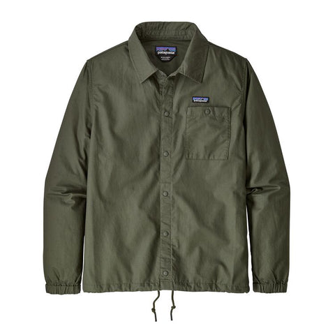 Patagonia All-Wear Hemp Coaches Jacket Green