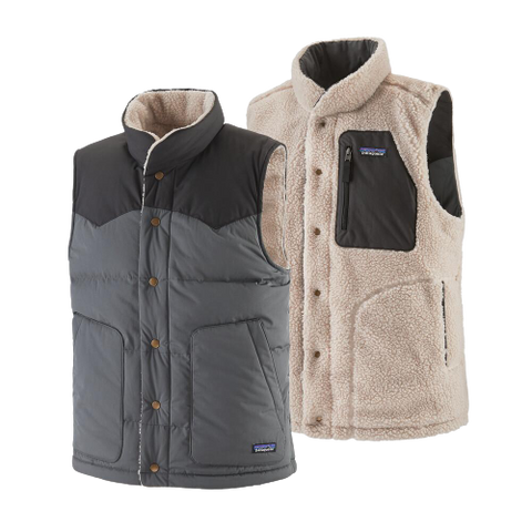 Patagonia Reversible Bivy Down Vest | Forge Grey