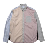 Hombre Nino Crazy Pattern Ventilation Shirt