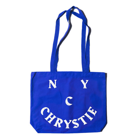 Chrystie NYC Smile Logo Totebags