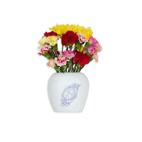 Alltimers Big Face Flower Vase