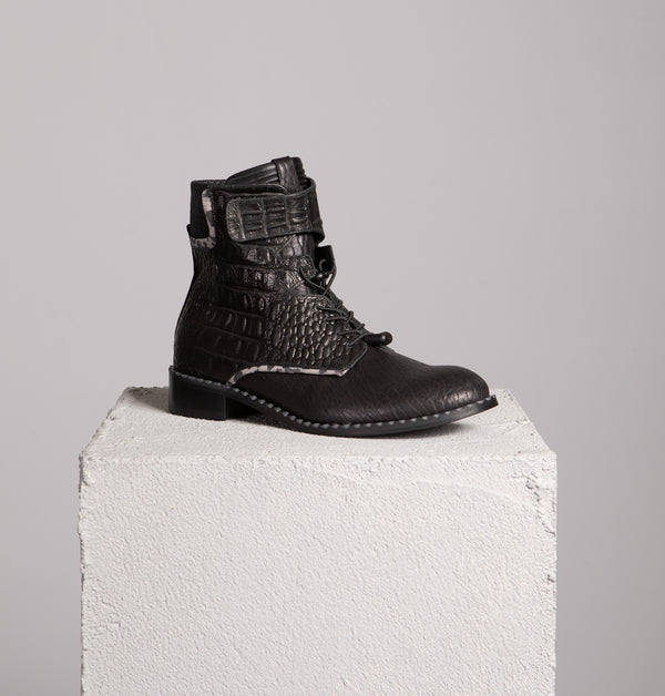 Seattle Velcro Ankle Boots