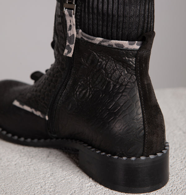 Seattle Velcro Ankle Boots (4417177124900)