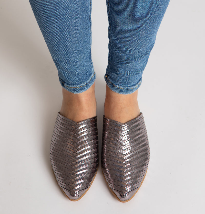 Toulouse Braided Mules (4494256046116)