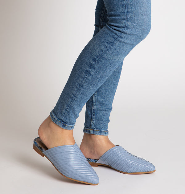 Toulouse Braided Mules