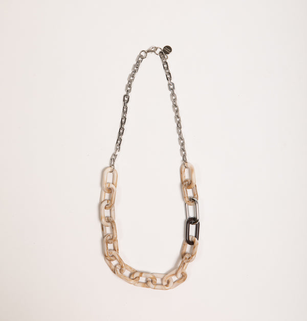 Big Chain Mix Necklace (4417620836388)