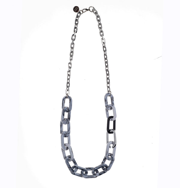 Big Chain Mix Necklace (4417620869156)