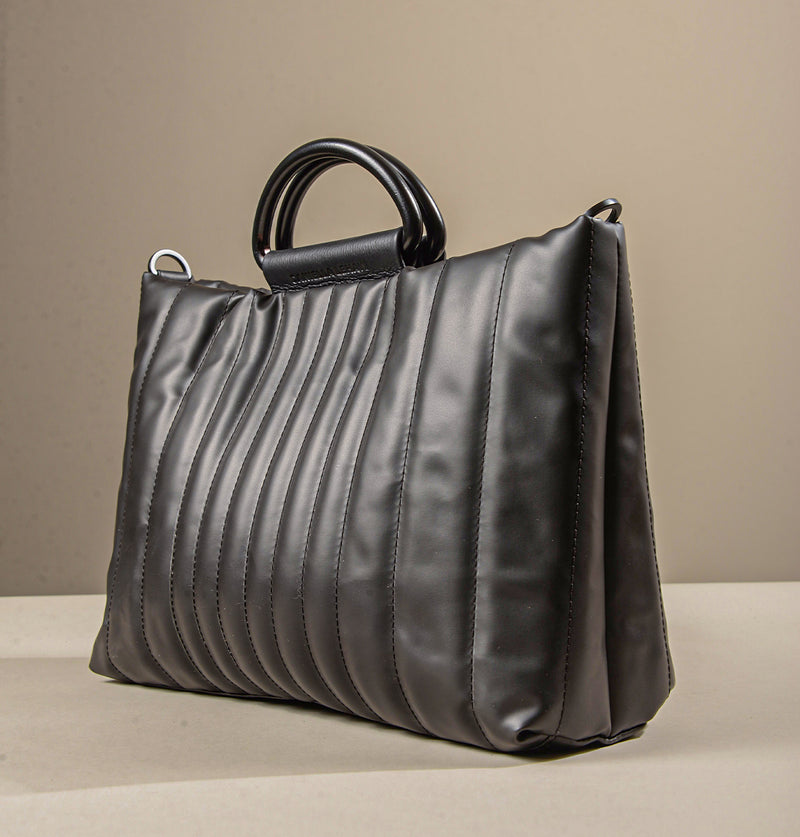 RicoQuiltedSatchelBag_Black