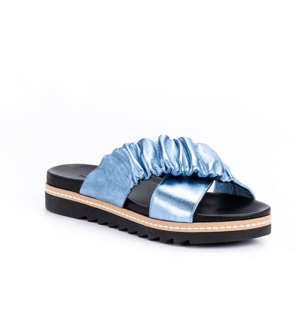 Sahara Scrunchie Sandals (4406563078180)