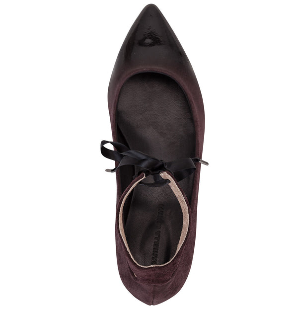Toulouse Vega Lace Up Ballet Flats (4590851489828)