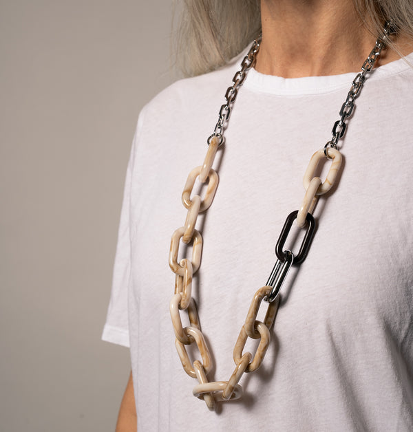 Big Chain Mix Necklace