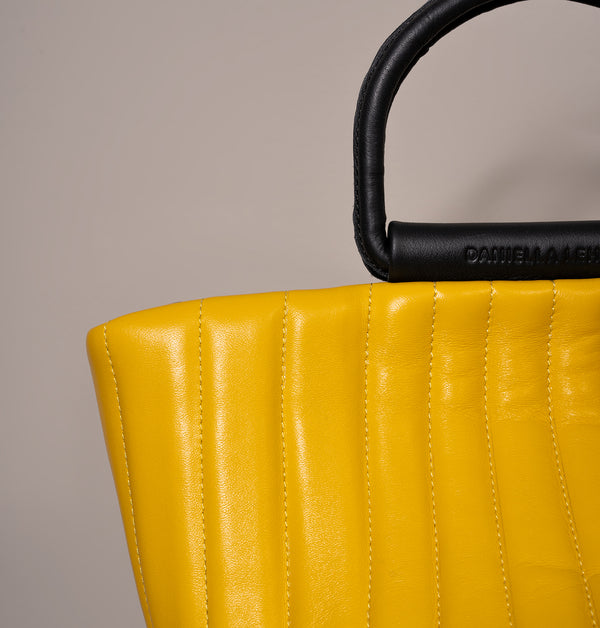 RicoQuiltedBucketBag_Yellow