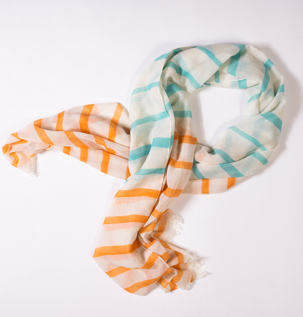 Neon Silky Scarf