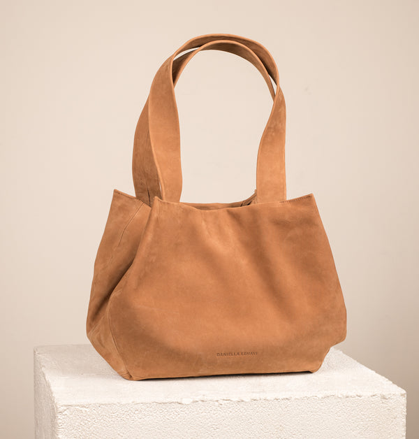 LeniLargeToteBag_Camel