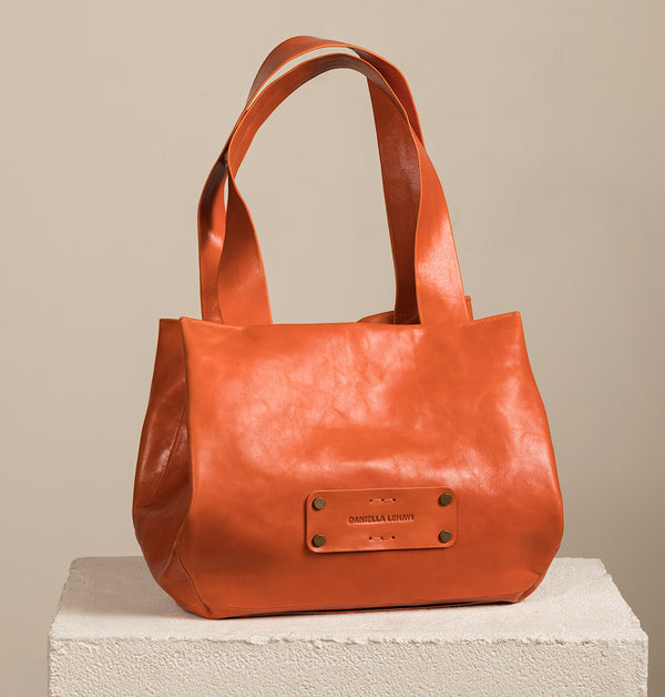 LeniLargeToteBag_Orange