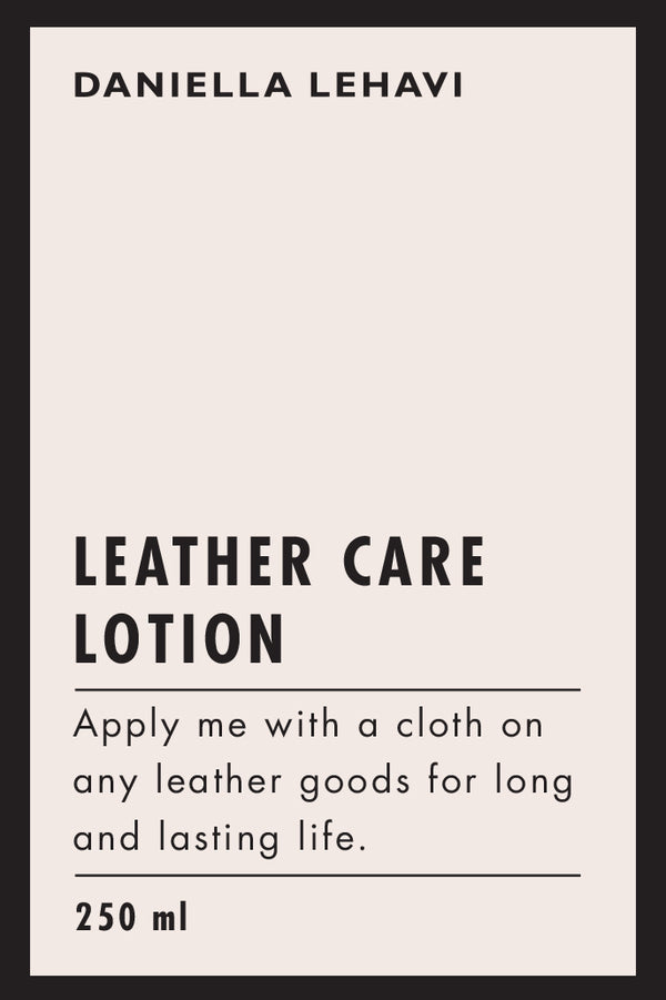 Leather Care Lotion