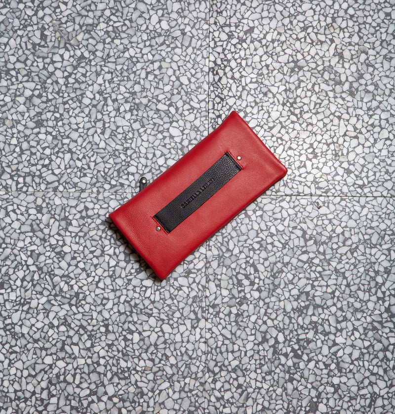 HockneyLargeWallet_Red