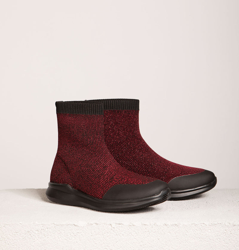 Runner Ankle Sock Boot