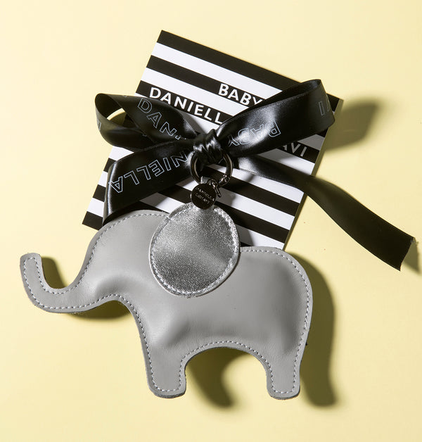 Elephant Leather Charm