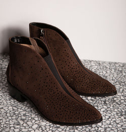 Manchester Elsatic Ankle Boots