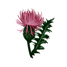 "Thistle Die Cut Sticker (3"" or 4"")"