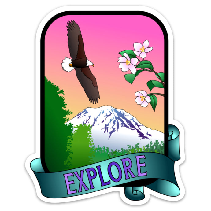 Explore Sticker (5