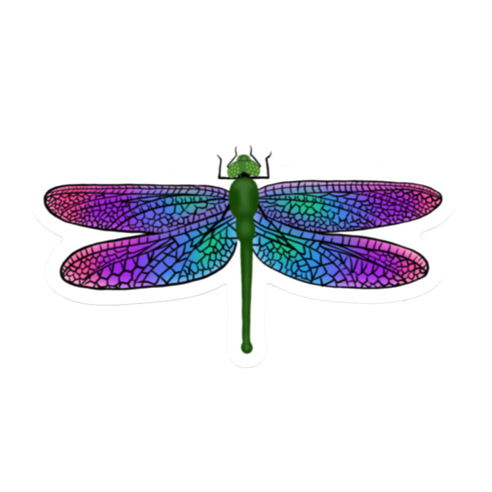 Dragonfly Die Cut Sticker (3