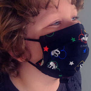 Cloth Masks with Adjustable Fit (Extra Small/Small or Medium/Large)