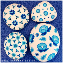 "Blue and White ""Porcelain"" Rocks (Series II)"