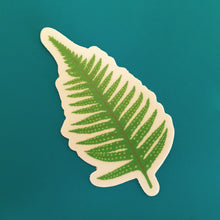 "Fern Die Cut Sticker (3"")"