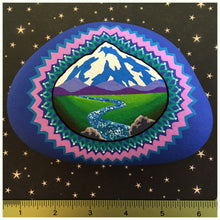 Mountain Mandala Rock