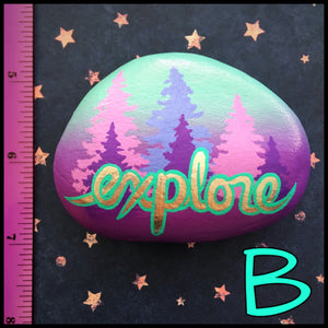 Explore Forest Rocks