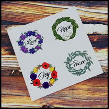 "Affirmation Circle Stickers (1.5"")"