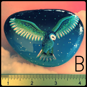 Metallic Owl Rocks