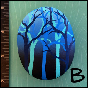 Blue Forest Rocks