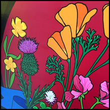 "Wildflowers and Weeds Painting (12"")"