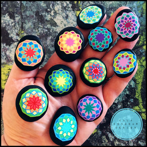 Mini Mandala Rock Set