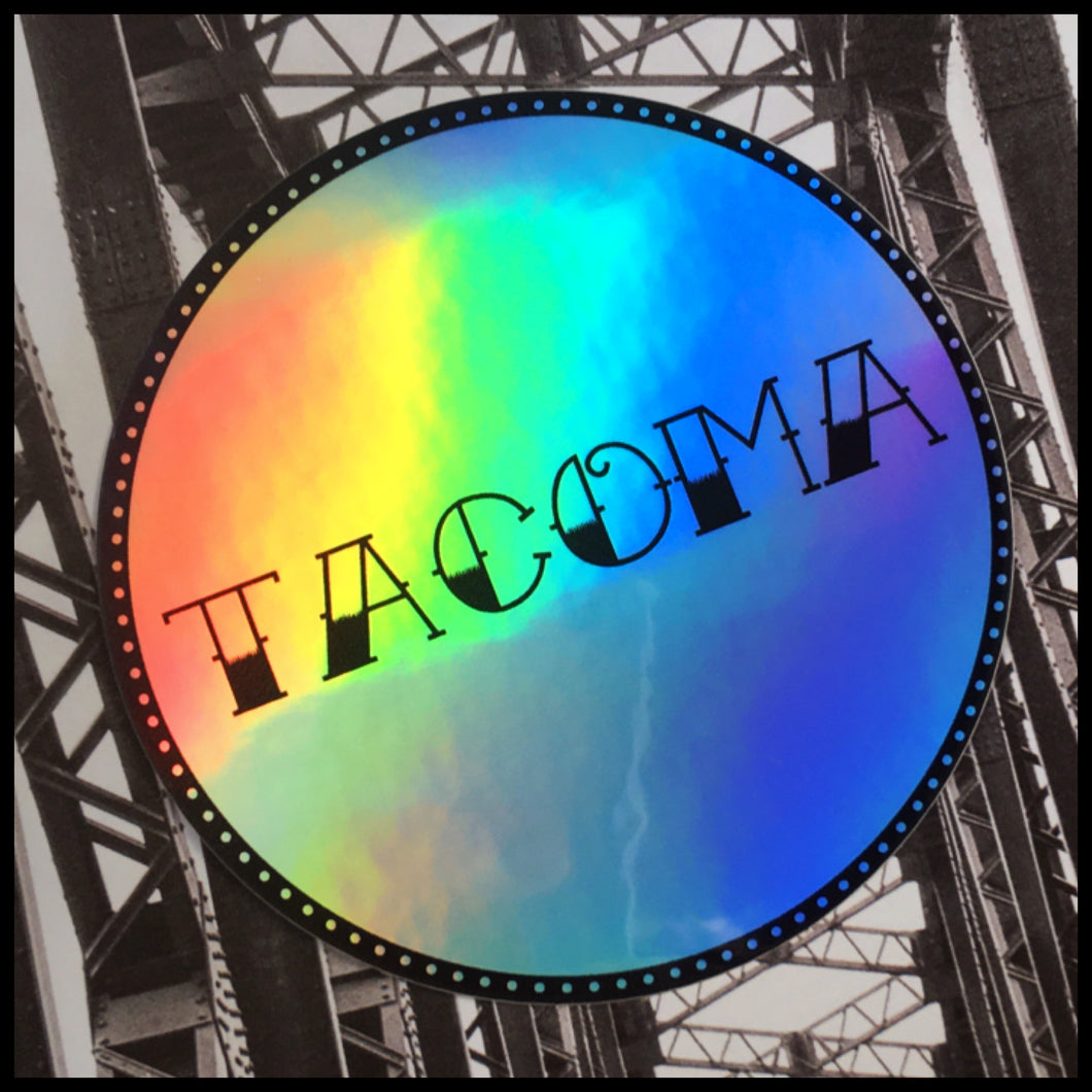 TACOMA Holographic Sticker (3