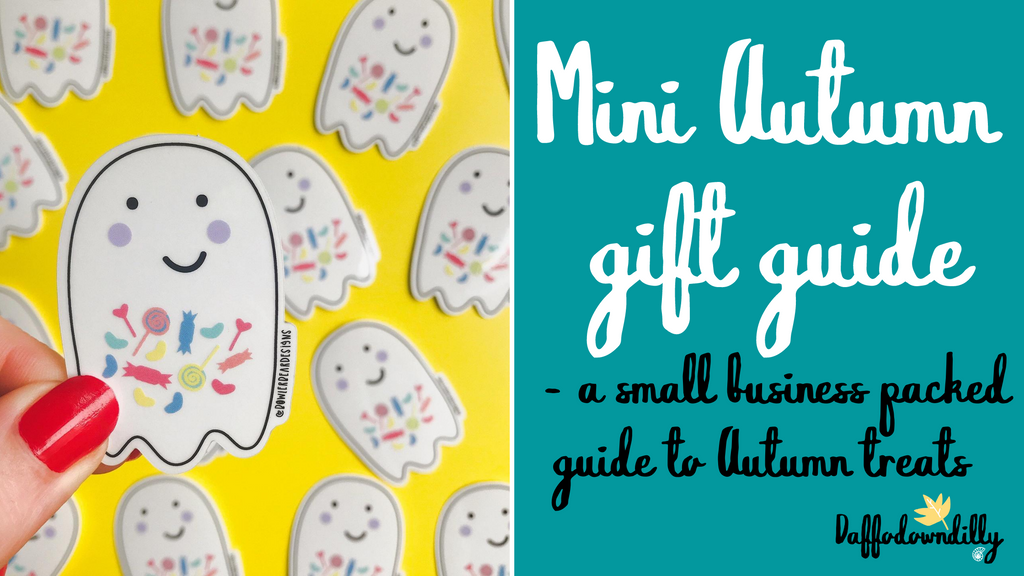 Mini Autumn Gift Guide - A small business packed guide of Autumn treats