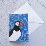 Puffin Love Notelet Card