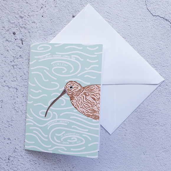 Curlew Love Notelet Card