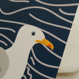 Herring Gull Notelet Card