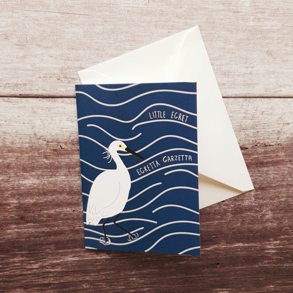 Little Egret Notelet Card