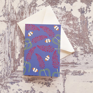 Buddleia Love Notelet Greeting Card
