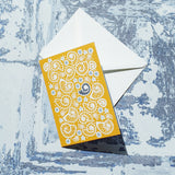 Fossil Beach Notelet Cards