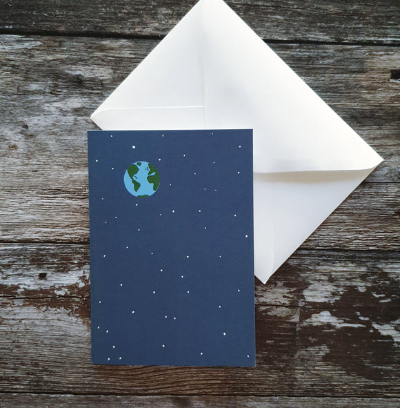 Earth Greeting Card