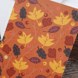 Leaf Love - Pumpkin Greeting Card