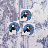 Puffin 38mm Vinyl Sticker