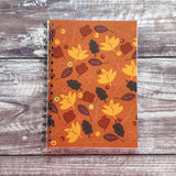 Leaf Love - Pumpkin Notebooks