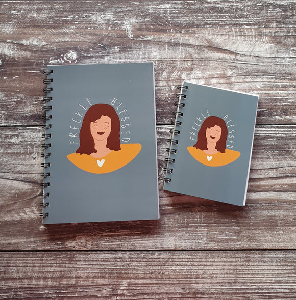 Freckle Blessed Notebooks
